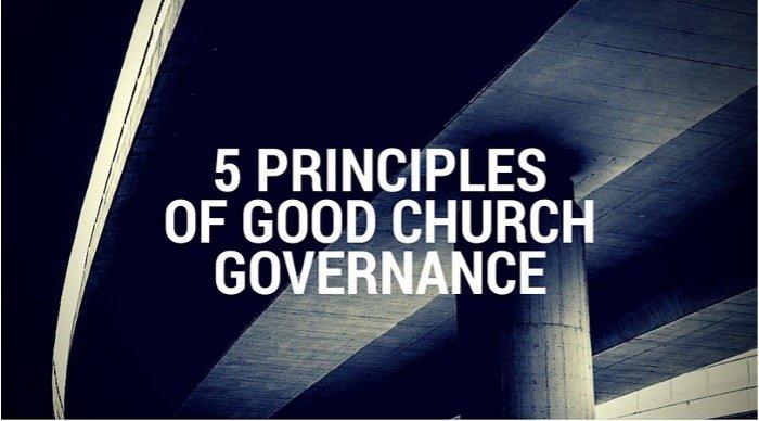 5 Principles of Good Church Governance